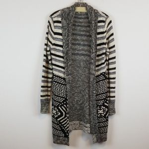 Ecote UO open front duster cardigan
